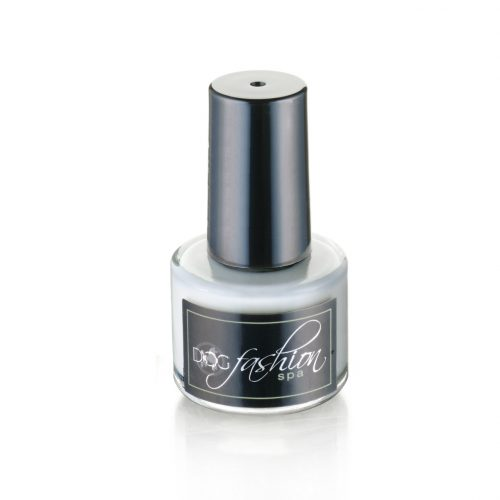 white base coat is recommended for dogs with dark nails, especially before applying light color dog nail polish